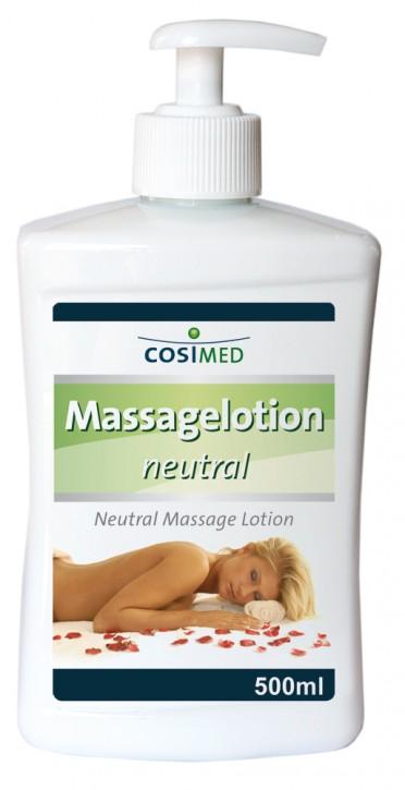 Massagelotion neutral 500 ml - Dosierflasche