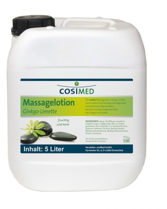 Aroma-Massagelotion Ginko-Limette 5000 ml