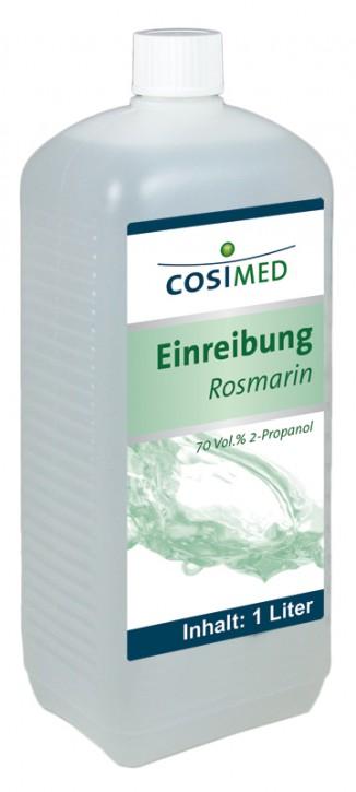 Einreibung Rosmarin 1 Liter 70 vol %