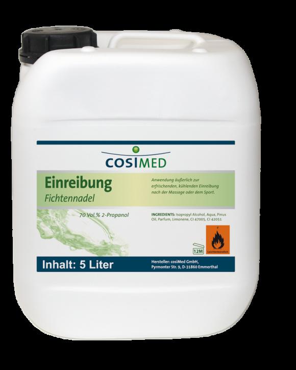 Einreibung  Fichtennadel 5 Liter 70 vol %