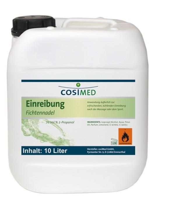 Einreibung Fichtennadel 10 Liter 70 vol %