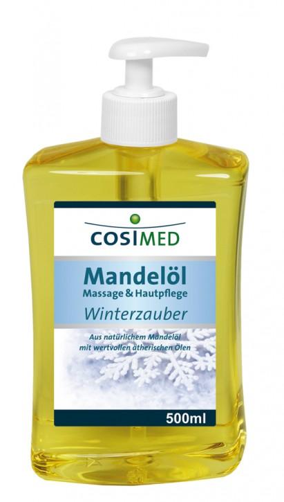 Mandelöl Winterzauber 500 ml - Dosierflasche