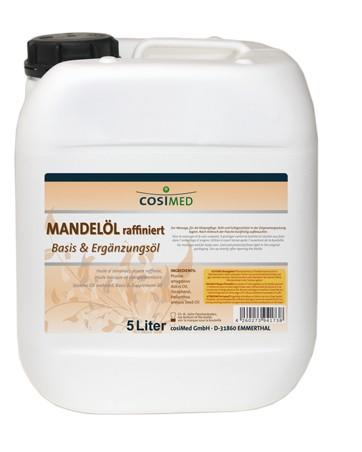 Mandelöl raffiniert 5 Liter