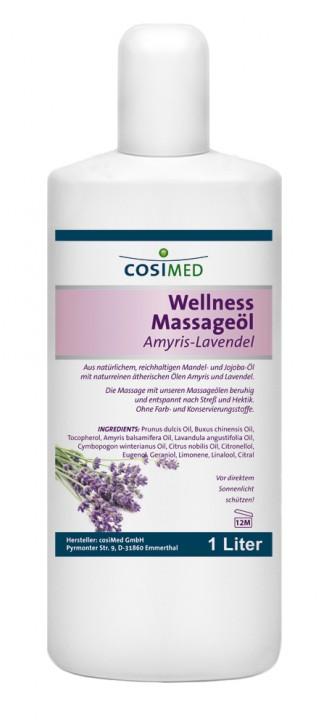 Wellness-Massageöl Amyris-Lavendel 1000 ml