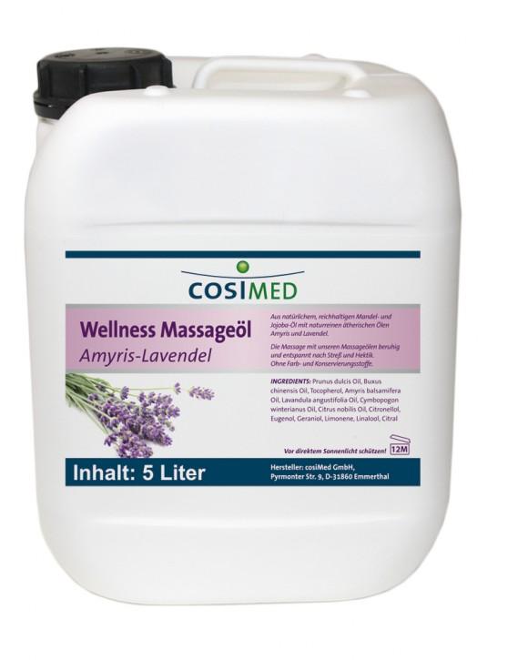 Wellness-Massageöl Amris-Lavendel 5000 ml
