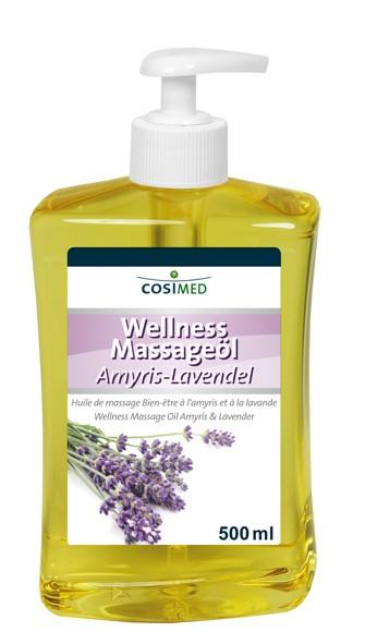Wellness-Massageöl Amyris-Lavendel 500 ml