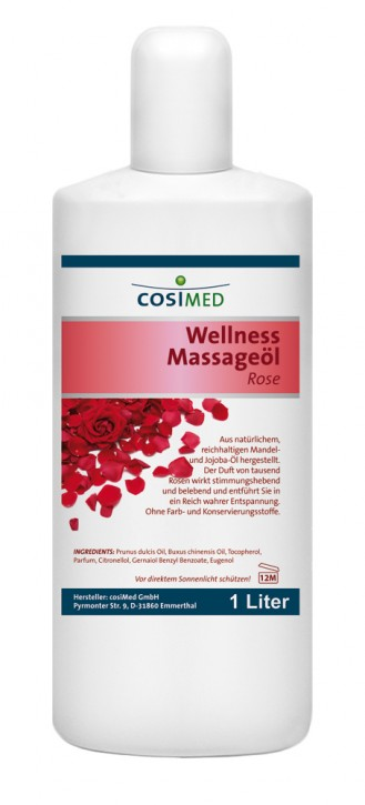 Wellness-Massageöl Rose 1000 ml