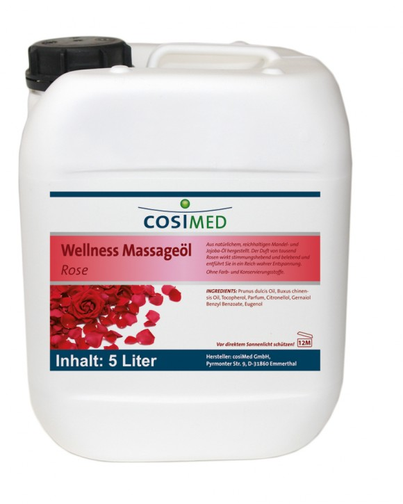 Wellness-Massageöl Rose 5000 ml