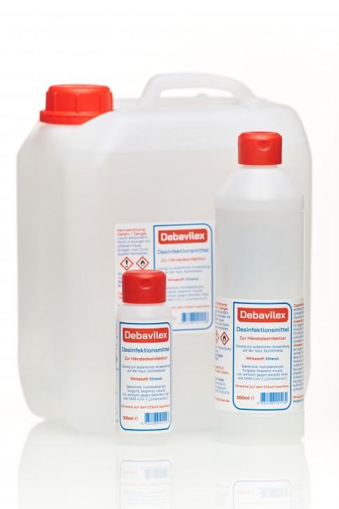 Händedesinfektionsmittel Debavilex 5 Liter Kanister