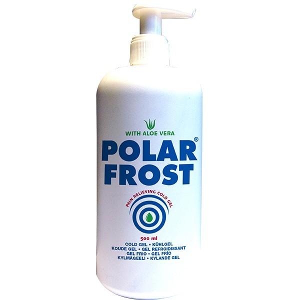 Polar Frost Kühlgel - ideal vor dem Taping - 500 ml Pumpflasche