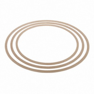 Gymnastikreifen aus Holz - Ø 80 cm